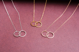 Hoops and Links Necklace