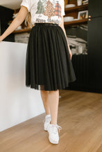 Load image into Gallery viewer, Indulge Tulle Skirt In Black