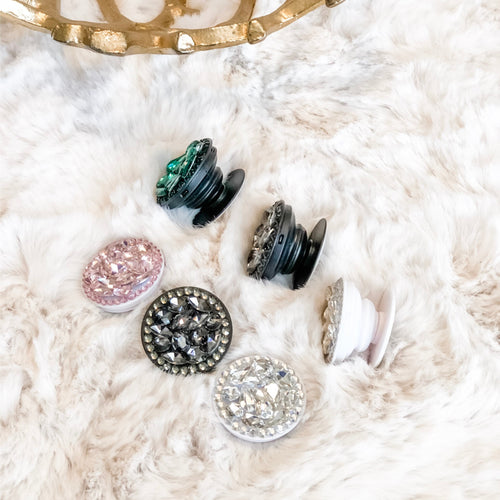 Jeweled Phone Pop Socket - Shop Life and Style