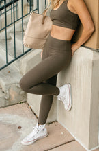Load image into Gallery viewer, Lucy Lounging Leggings in Deep Olive