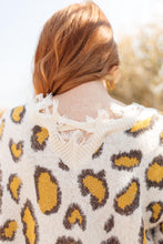 Load image into Gallery viewer, Mellow Yellow Leopard Sweater