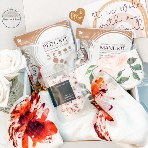 Self-Care Sunday Curated Gift Box - Shop Life and Style