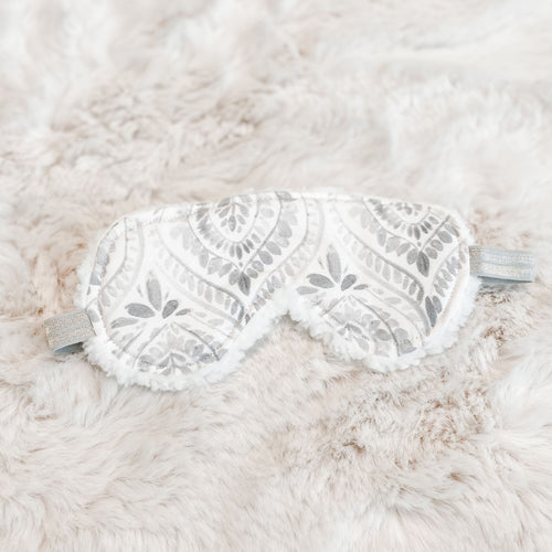 Luxe Gray Watercolor Sleep Mask - Shop Life and Style