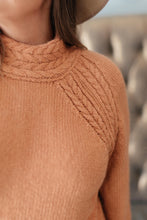 Load image into Gallery viewer, Your Favorite Knit Sweater in Carrot