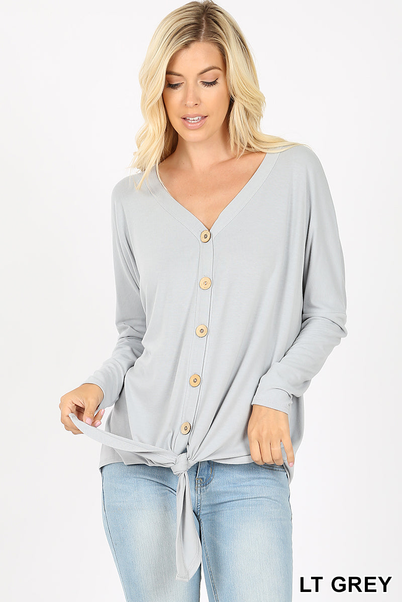 Grayce Lightweight Long Sleeve Top - Shop Life and Style