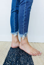 Load image into Gallery viewer, Shark Bite Frayed Hem Jeans