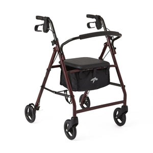 Basic Rollator Burgundy