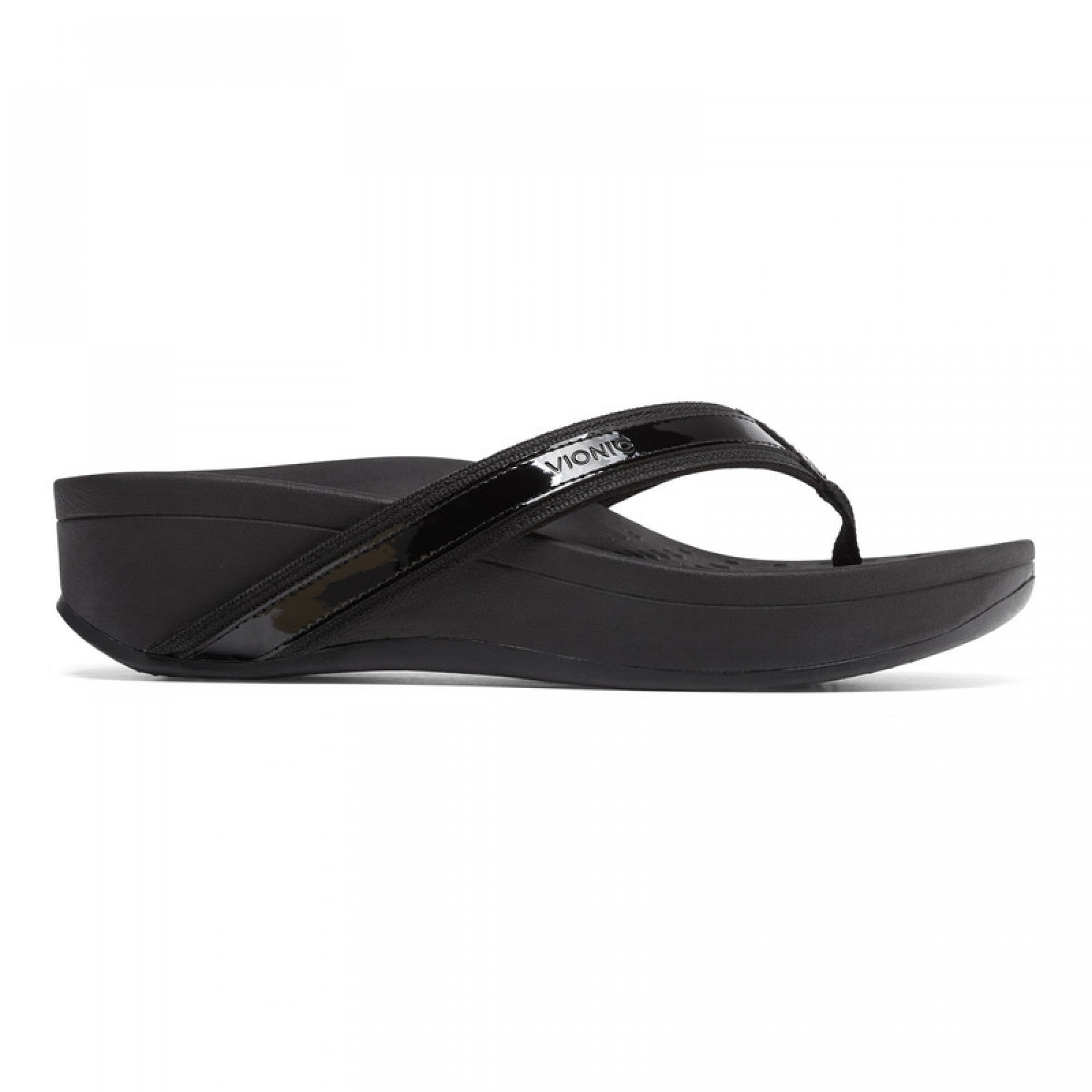 High Tide Platform Sandal - Black