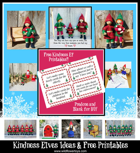 Kindness Elves Ideas & free printables