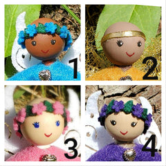 Bald fairy dolls Chemo Childhood Cancer