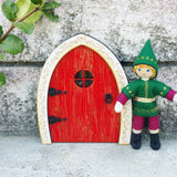 Red elf door Kindness Elves
