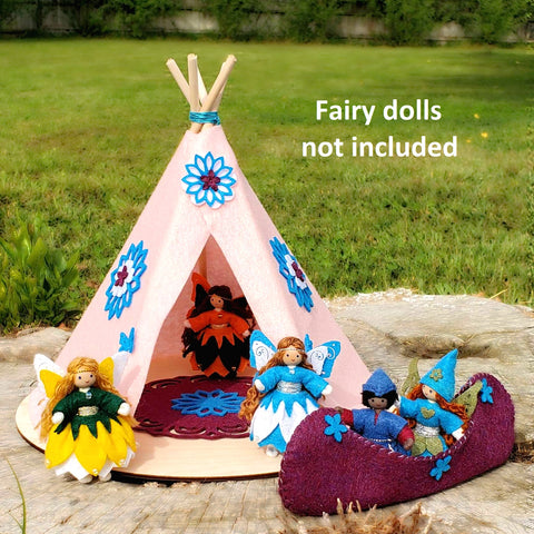 Fairy doll teepee house