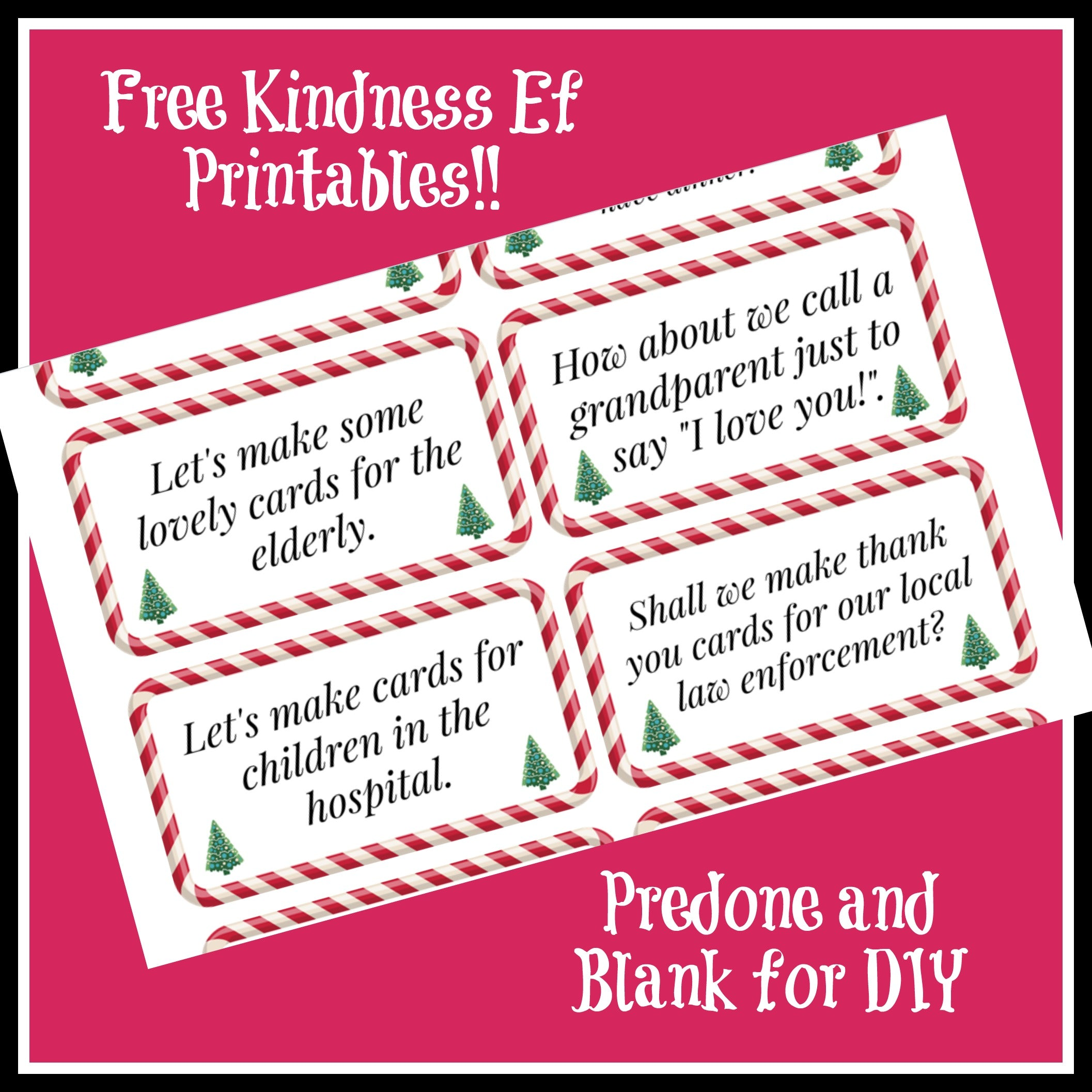 """graphic regarding Free Printable Elf Pattern called Kindness Elves Suggestions no cost printables Wildflower Toys â""""¢"""