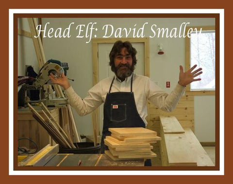 David Smalley owner of Elves and Angels