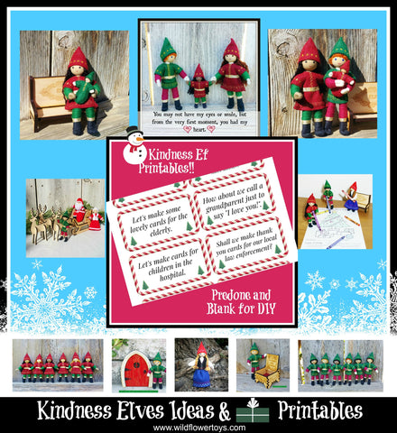 Kindness Elves Ideas and free Printables