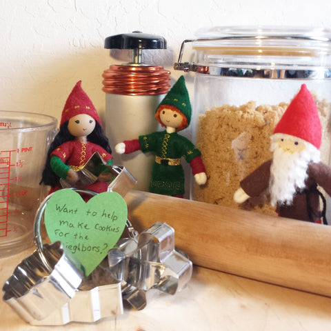 Kindness Elves at Work