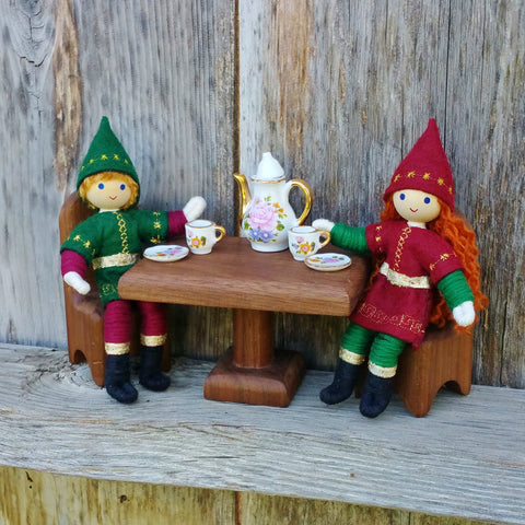 Kindness Elves having a tea party