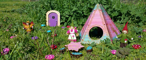 Fairy house and fairy door Wildflower Toys