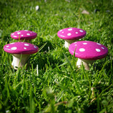 Pink fairy mushrooms Wildflower toys