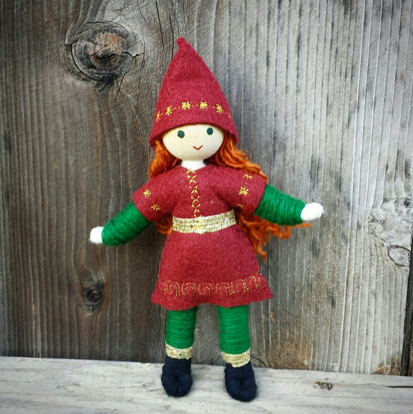 Kindness Elves red hair Wildflower toys