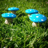 Blue fairy toadstools Wildflower Toys