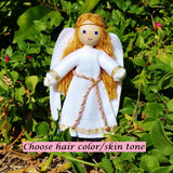 Angel Doll - Dark Brown Hair