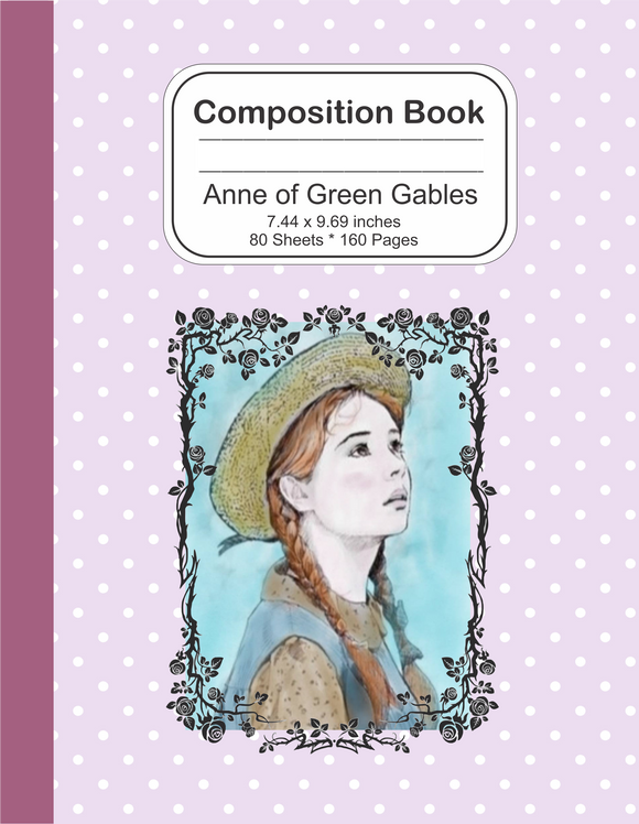 Composition Notebook journal: Anne of Green Gables