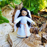 Asian Guardian Angel doll handmade