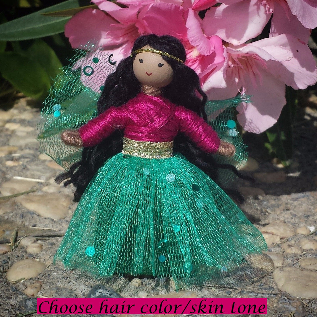 Sparkle Fairy Pink & Green