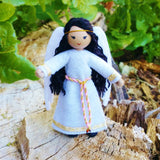 Guardian Angel doll Asian