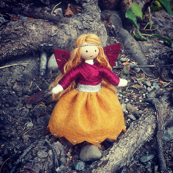 Autumn Fairy Doll