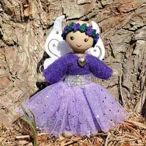Purple Fairy Doll