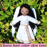 Black Guardian Angel doll African American