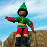 Black Kindness Elf. African American Christmas Elves