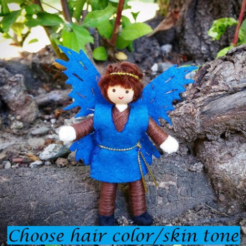 Fairy prince doll boy fairy doll