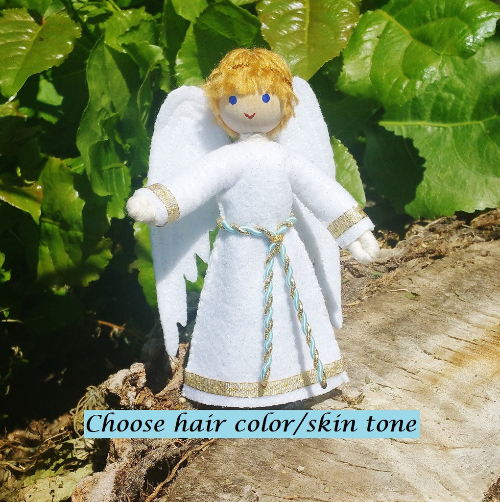 Boy Angel Doll - Blonde Hair