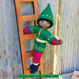 Brown skin Kindness Elves black Christmas Elf