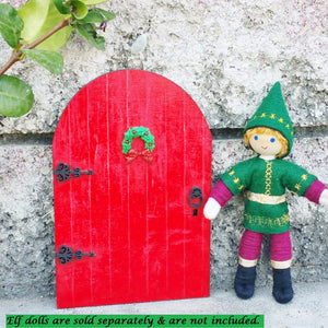Red Kindness Elf Door
