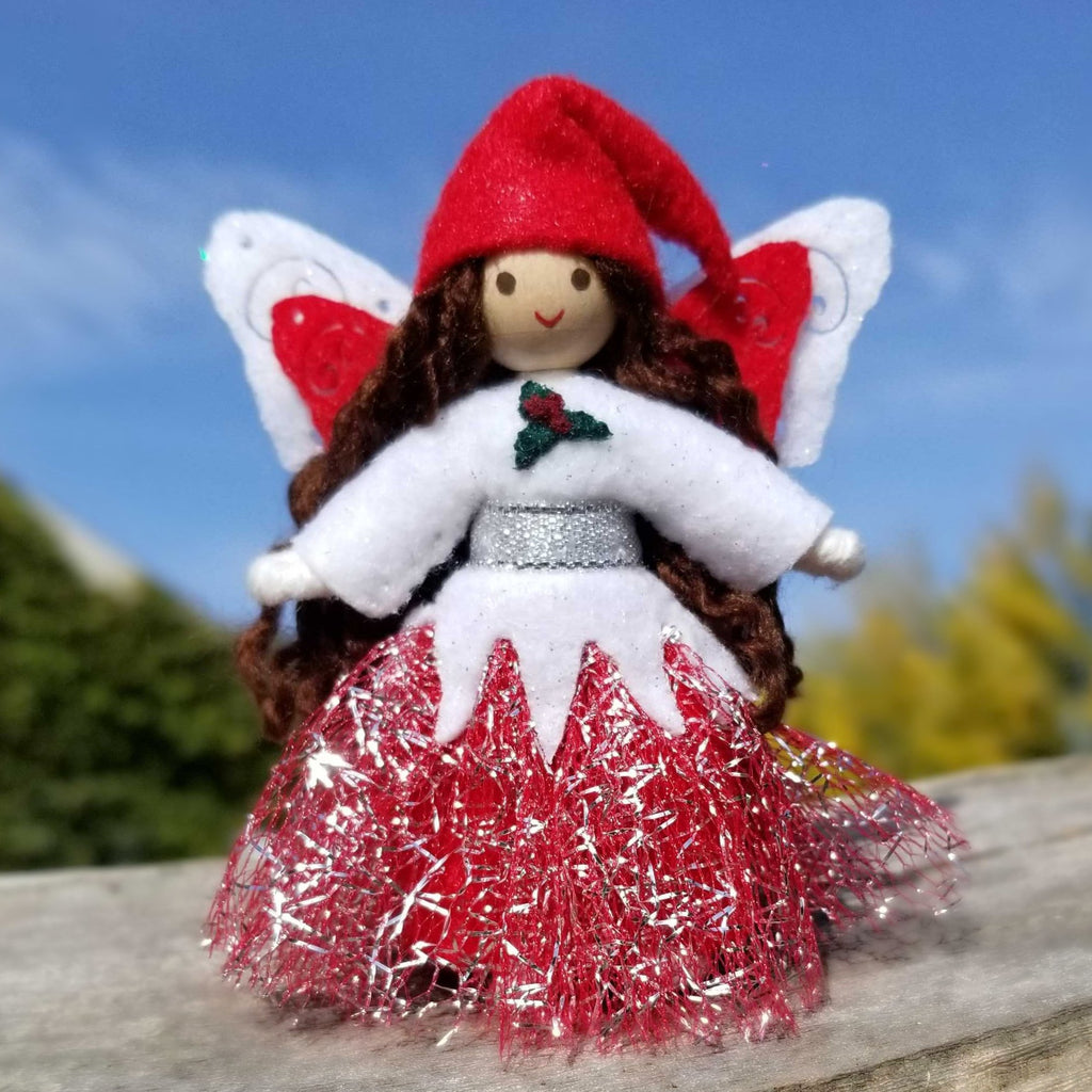 Red Christmas Fairy
