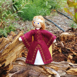 Natural Dollhouse Queen Doll