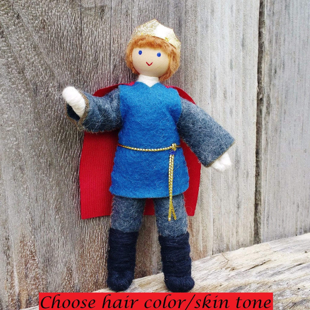 Dollhouse Castle Prince Doll