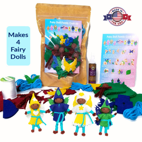 Fairy Doll Kit Dark Skin