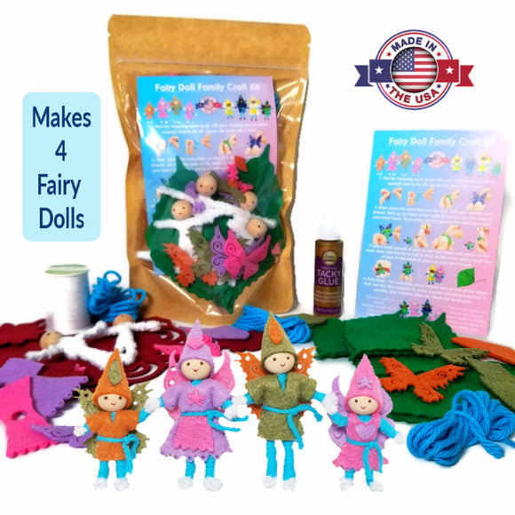 Fairy Doll Craft Kit bendy dolls