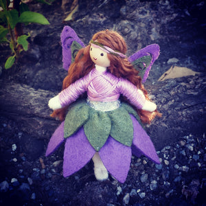 Fairy doll handmade bendy doll Wildflower toys