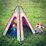 Wooden Fairy House Teepee