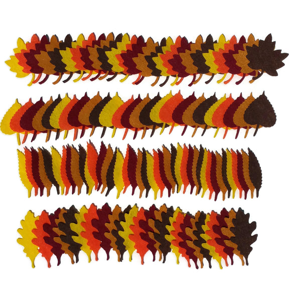 Autumn Felt Leaves
