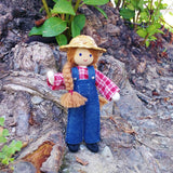 Dollhouse Farmer Doll Girl