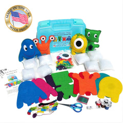 Kid's Monster Sewing Kit