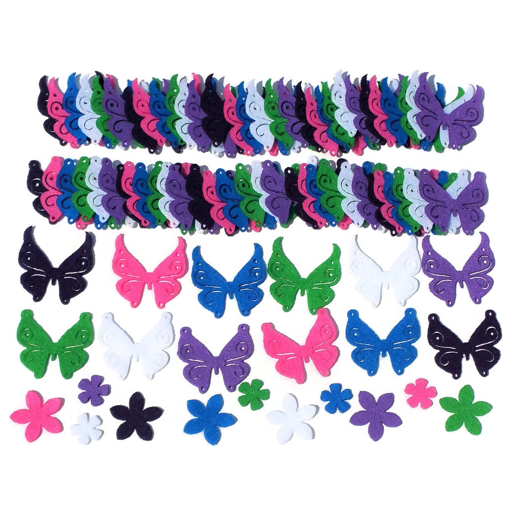 Felt Butterfly Shapes