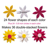 Felt flowers Daisy DIY Wildflower toys